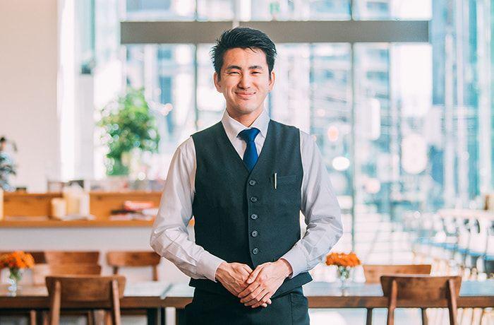 Store Manager 地主健人 JINUSHI Taketo